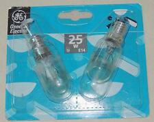 2x2 soit 4 Ampoules Standard Incandescent E14 Vissée 25w 1000h general electric