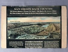 1915 SAN DIEGO's BACK COUNTRY Antique PANAMA CALIFORNIA EXPOSITION Postcard
