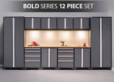 NewAge Bold 3.0 Series 12-piece Garage Cabinets in Gray, NEW SHIPS FROM FACTORY