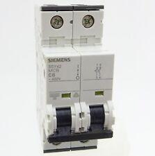 Siemens 5sy42 c6 backup sportello automatico 5sy4206-7 Linea Interruttore 6a 2p 35ka