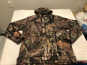 NWT $74.99 Under Armour Mens CG Storm Icon Camo Hoodie Mossy Oak Size LARGE