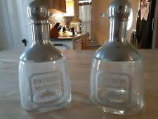 patron margarita shakers, barware, glassware set of 2