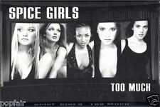 SPICE GIRLS - TOO MUCH 1997 UK CASSINGLE VICTORIA BECKHAM POSH GERI HALLIWELL