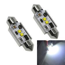 2pcs High Power Xenon White 10W CREE Canbus c5w 36mm Festoon LED Light Bulbs New