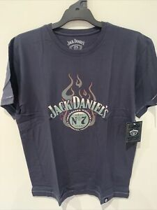 Jack Daniels Tennessee Whiskey Adult Tshirt Size 2XL Old No 7
