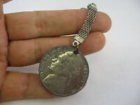 Large Nickel Coin Keychain