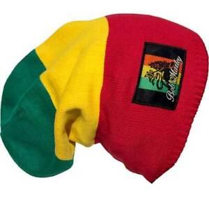 Bob Marley Bob Marley Rasta Solid Block Beanie
