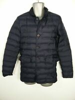 MENS JACK WILLS NAVY BLUE ZIP BUTTON UP LIGHTLY PADDED PUFFER COAT SIZE XS SMALL