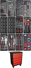 Kraftmann Werkstattwagen mit 156 Werkzeugen