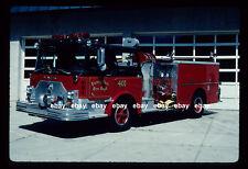 Forest Park IL 1974 Mack CF pumper 1980 Pierce Rehab Fire Apparatus Slide