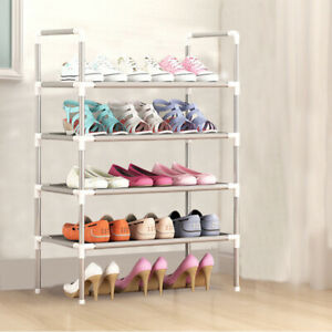 4Tier Stackable Shoe Storage Rack Stand Shelf Stand Holder Space Saving 12 Pairs