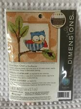 NEW Dimensions Curious Owl Needlepoint Kit #71-07239