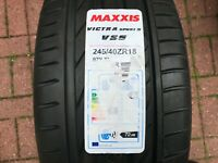 1 x NEW 245 40 18 MAXXIS VICTRA SPORT 5 TYRE VS5 245/40 ZR18 97Y XL