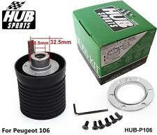 BOSS KIT STEERING WHEEL HUB ADAPTER Fit For Peugeot 106 Universal