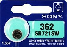 ag11 sr58 sr721 v362 d362 sr721sw lr721 1 watch battery sony 1.55v 362 silver