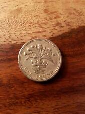1984 UK £ 1 Una Sterlina Moneta cardo e diadema Scozia