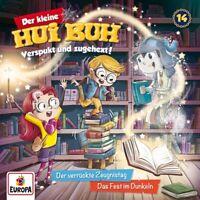 DER KLEINE HUI BUH - 014/DER VERRÜCKTE ZEUGNISTAG/DAS FEST IM DUNKELN   CD NEU