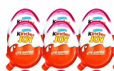 New Kinder Joy with Surprise Eggs in Toy & Chocolate For Girls - 6 x Eggs India