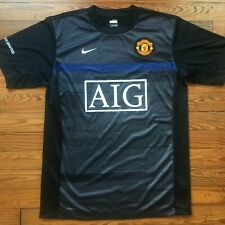 Manchester United Nike training shirt 2008. AIG