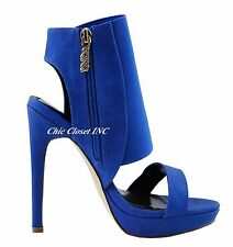 Women Gladiator Ankle Strap High Heel Booties Platform Wedge Sandals Shoes