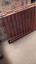 Baby Laufstall mit Bodenmatte und Seitenschutz - 90x90 cm, 70 hoch