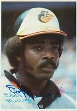 Eddie Murray Signed 1980 Topps Giants #28 Autograph Auto PSA/DNA Z10843