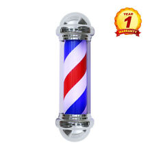 Barber Pole Led Rotating Light,Classic Style Hair Salon Barber Shop Open Sign