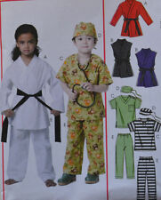 Child's Unisex Costume Sewing Patterns