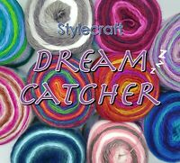 Stylecraft DREAM CATCHER DK 150g Acrylic + Wool Knitting yarn Cake