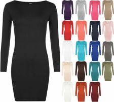 Clubwear Long Sleeve Stretch Tops & Blouses for Women