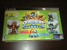 SKYLANDERS SWAP FORCE STARTER PACK PS3 VIDEO GAME SEALED BLAST ZONE WASH BUCKLER