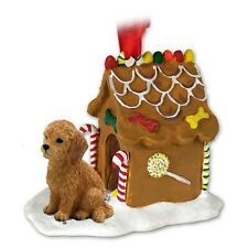 Goldendoodle Gingerbread House Ornament
