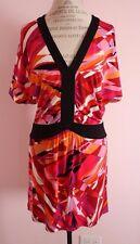 NWT Womens BCBG Max Azria Begonia Combo Dolman Dress Size Small
