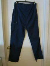Large Navy Blue Women's Spread Good Cheer Maternity Scrub Bottoms Pants L