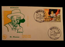 MONACO PREMIER JOUR FDC YVERT 1242     PEINTURE DE  VAN DONGEN       3F     1980