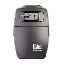 LISTEN TECH LR-400  PERSONAL RECEIVER W/ LCD DISPLAY-72 OR 216 MHZ-RECEIVER ONLY