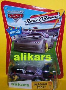 R - IMPOUND BOOST Chase - #75 Confetti - Race O Rama ROR Disney Cars Mattel