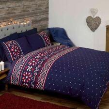 Lenzuola e biancheria da letto blu di dimensioni 1 piazza e mezza fantasia cuori