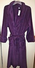 """CHATER CLUB INTIMATES Women's Supersoft Plush Robe """"RICH CONCORD"""" Purple 3X NWT"""