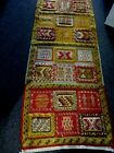 """VINTAGE HAND WOVEN INDONESIA HALL RUNNER RUG ~ 29"""" X 16'"""