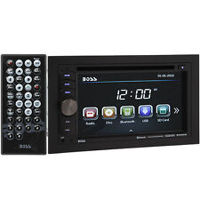 Boss BV9351B Double DIN Bluetooth In-Dash DVD Touch Screen Car Stereo Receiver!