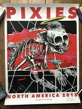 Pixies Poster 2015 North America Tour S/N #/75 - Williams