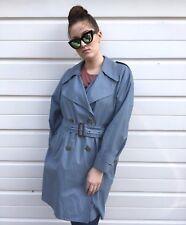 Womens Burberry Trench Coat Mac Rain Burberry Coat Check Nova 10 12 S M Checked