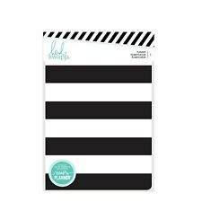 American Crafts Heidi Swapp Memory Planner Personal Black and White Stripes