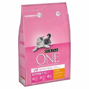 Purina One Chicken and Whole Grain Junior/Kitten Dry Cat Food