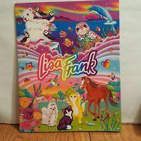 Vintage Lisa Frank Folder - Rainbow Reef -  Princess Pearls - Roary - Cuddly Kit
