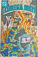 OMEGA MEN#1 VF/NM 1983 DC BRONZE AGE COMICS