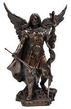 Veronese Bronze Figurine Religious Archangel Saint Gabriel Gift Home Decor angel