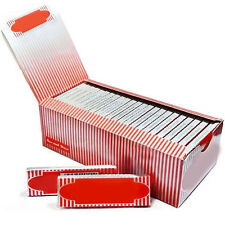 1 Box 50 Booklets Moon Red Cigarette Tobacco Rolling Papers 2500 Leaves Witty