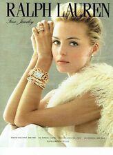 PUBLICITE ADVERTISING 027  2012   Ralph Lauren  fine joaillerie bijoux